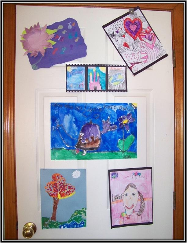 Display Their Artwork