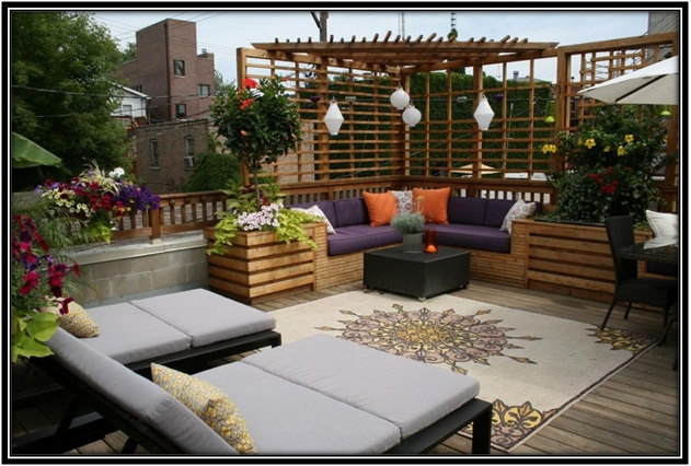 Fascinating Terrace Designs