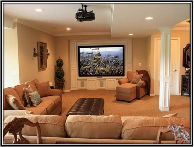 converting your basement into a Lounge area