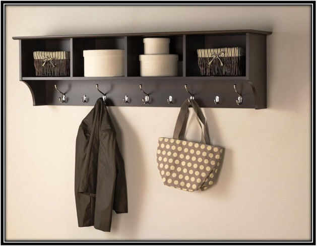 hanging a coat rack