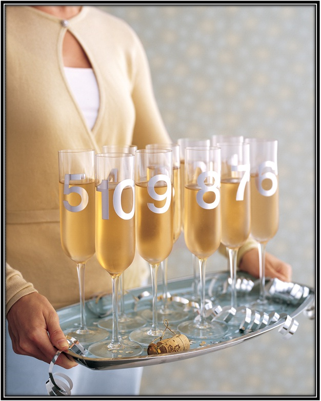 Toast To Welcome The New Year
