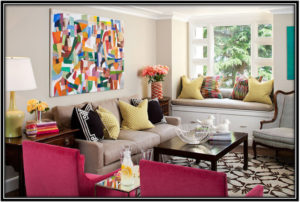 art and upholstery