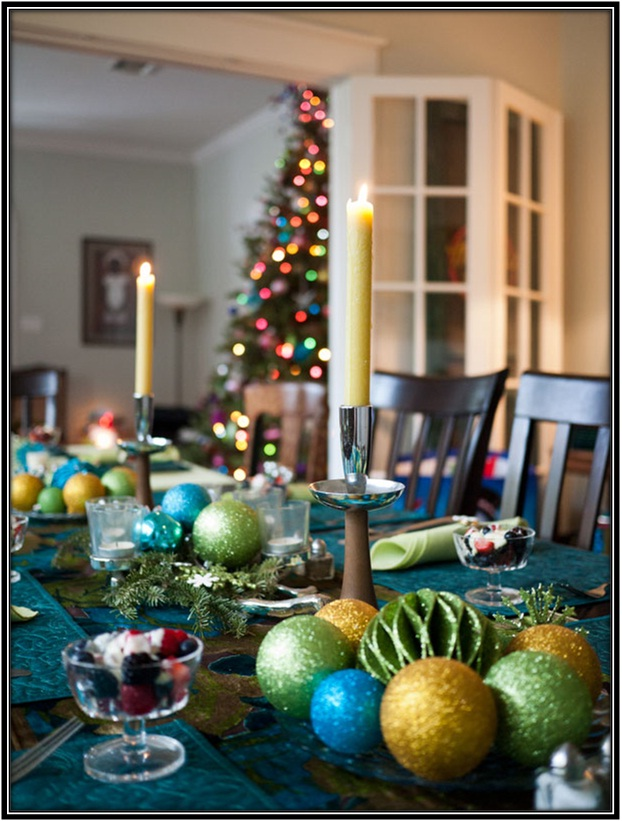decorate the table