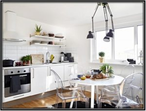 make your kitchen look luxurious