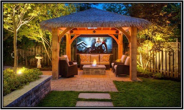 TV in your outdoor area