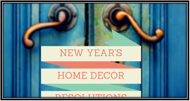 new year home decor resolutions
