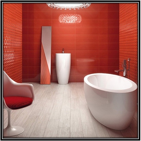 Dress up your bathroom with decorative tiles