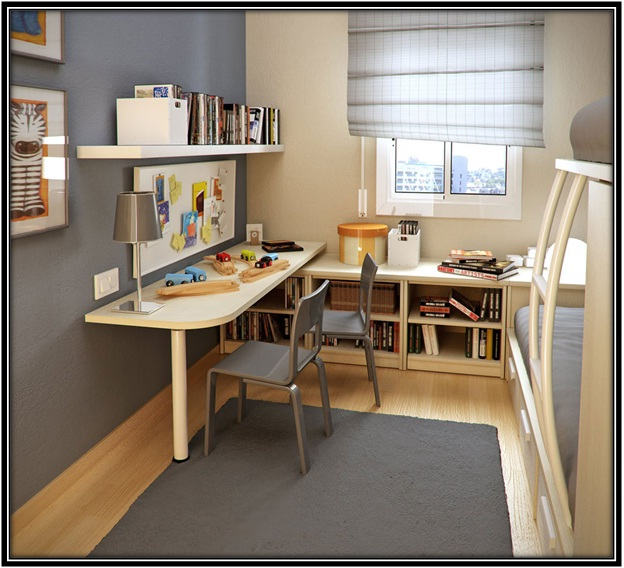 Some Cool Study Room Design Ideas For Teenagers