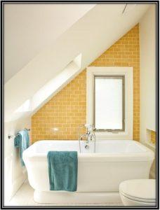 sunny color tiles use in bath area