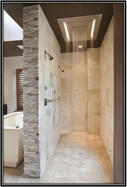 A Walk In Shower Home Decor Ideas