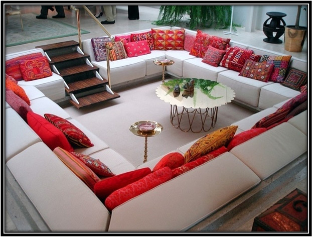 Comfy Conversation Pit Home Decor Ideas