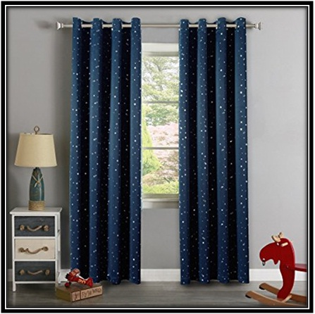 Curtains for Boy's Room
