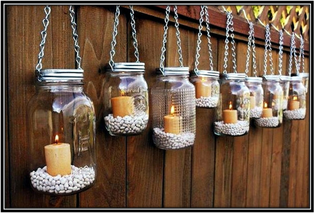 DIY Candle Lanterns Home Decor Ideas