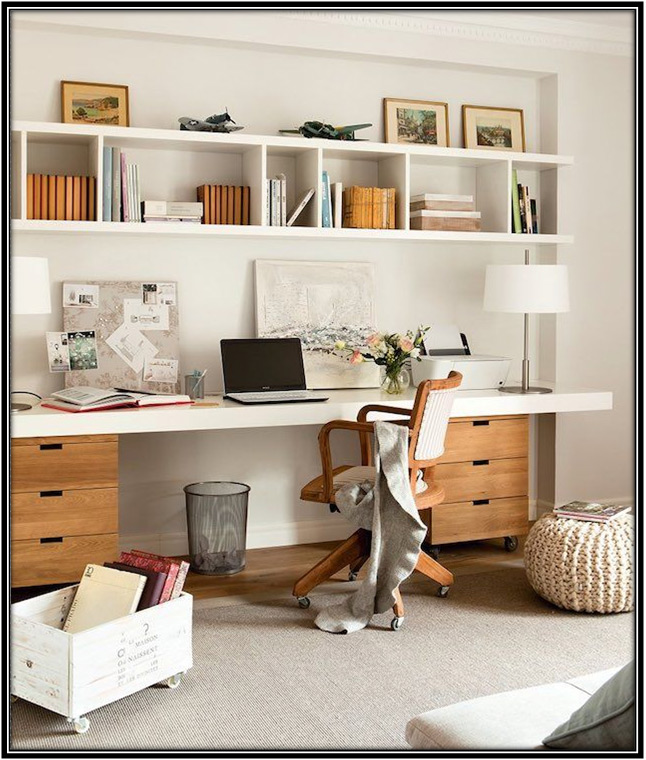 Enhance Look of Your Room With Shelves Home Decor Ideas