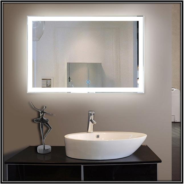 LED Bathrrom Mirror Home Decor Ideas