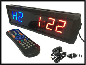 LED Countdown Clock for Home Gym Home Decor Ideas