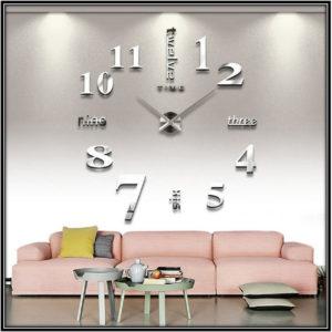Living Room Wall Clock Home Decor Ideas