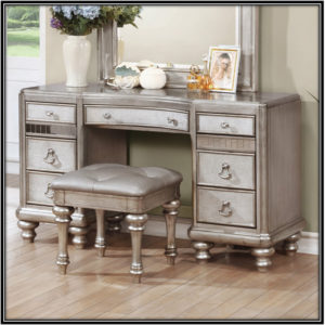 Metallic Antique Dressing Table Home Decor Ideas