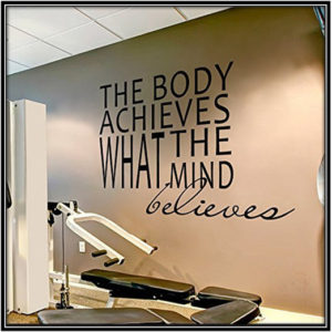 Motivational Wall Stickers For Home Gym Home Decor Ideas