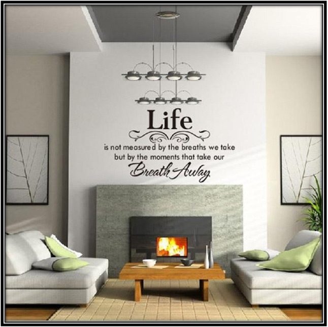 Quoted Wallpapers Home Decor Ideas