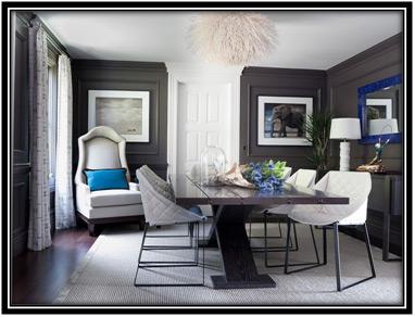 Elegant Gray Dining Room Home Decor Ideas