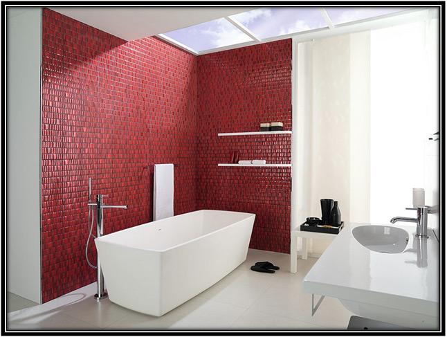 White Bathroom With A Splash Of Color Home Decor Ideas