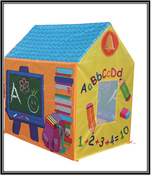 A play tent school house - home decor ideas