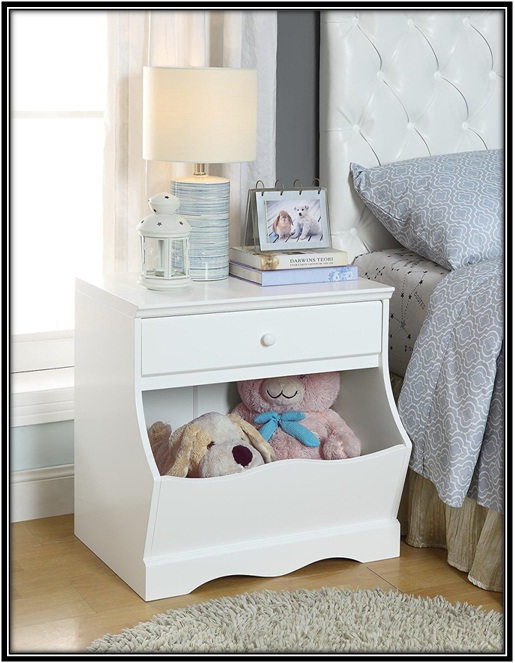 Accent Night Stand for Kid Bedroom - home decor ideas