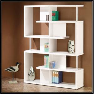 All White Bookshelf Home Decor Ideas