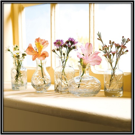 Bringing uniqueness through glass vases - home decor ideas