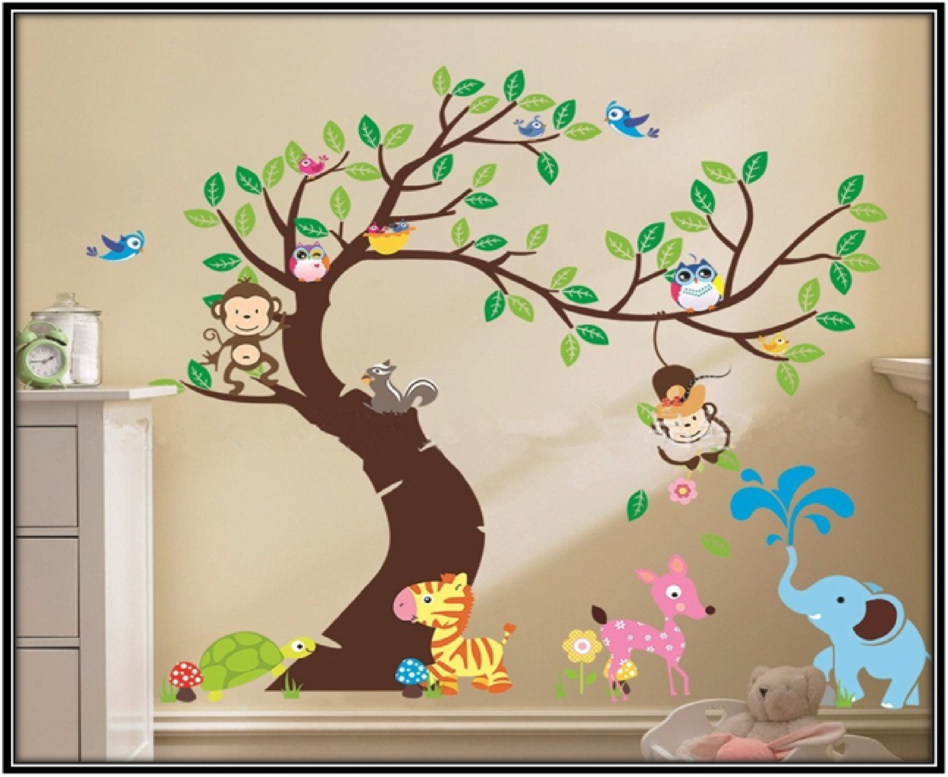 Decorative wall sticker for lovely environment - home decor ideas
