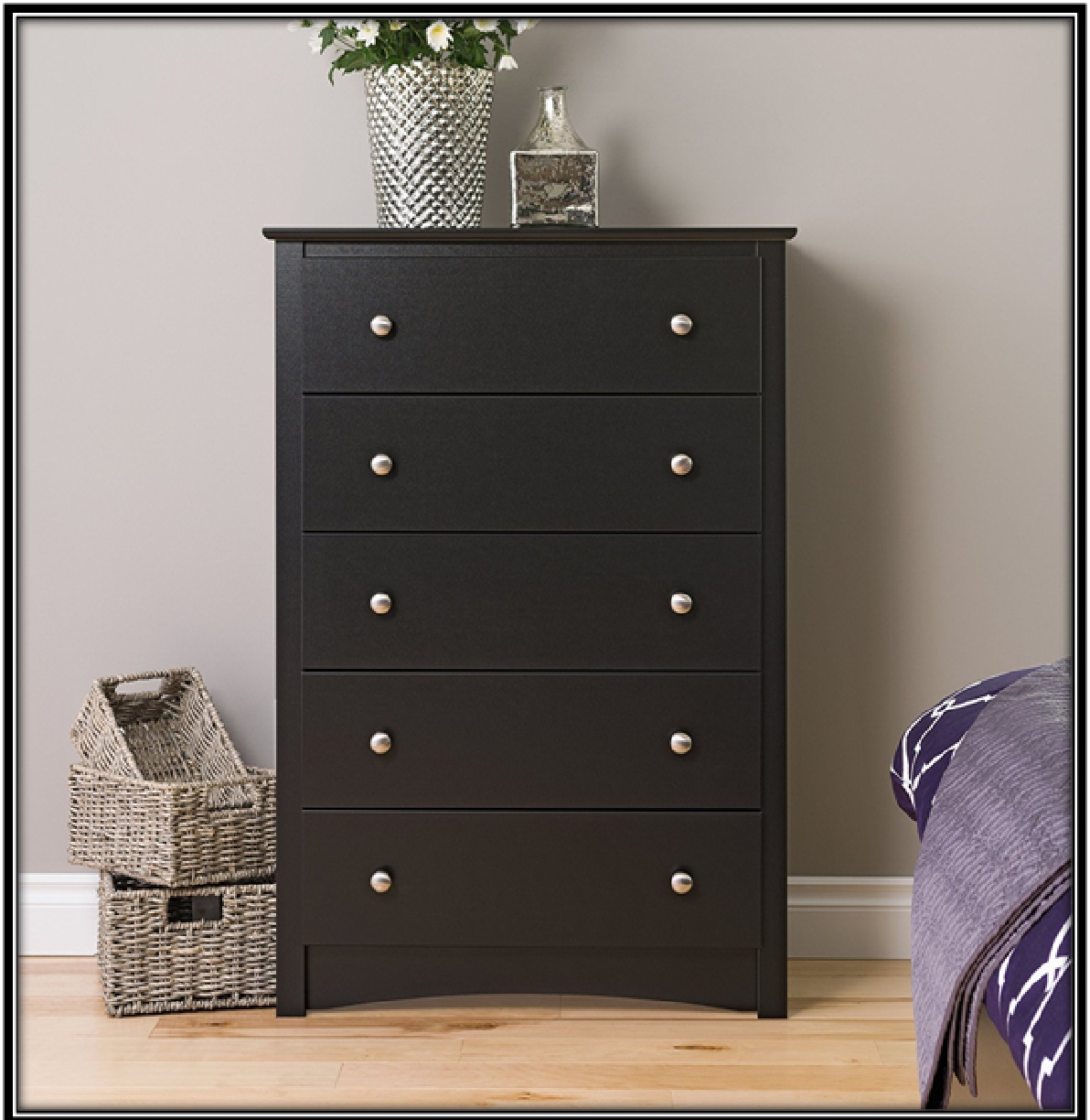 Drawer for holding accessories and saving space - home decor ideas
