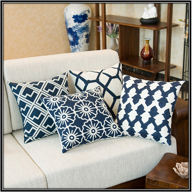 Embroidered Assorted Design Pillow For Living Room Home Decor Ideas