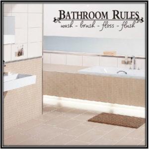 Home Decal For Bathrrom Home Decor Ideas