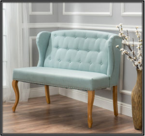Light Blue Love Seat Home Decor Ideas