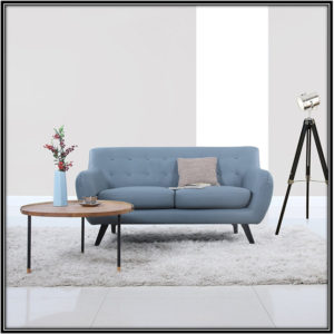 Modern Mid Century Love Seat Home Decor Ideas