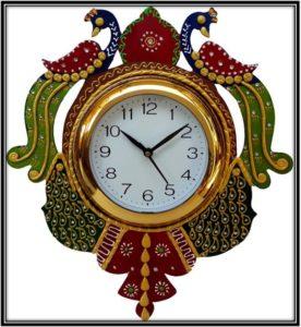Multicolour Glass Analog Watch - home decor items