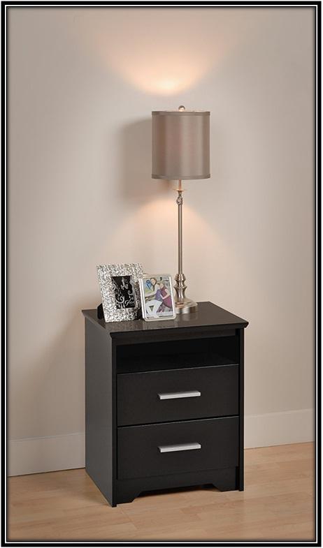 Open Shelf Night Stand - home decor ideas