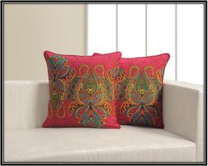 Printed Poplin Fabric Pillow For Living Room Home Decor Ideas