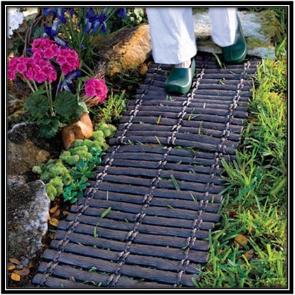 Rubber Outdoor Walkway Mat Garden Home Decor Ideas