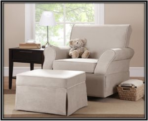 Wivel Glider and Ottoman for relaxing - home decor ideas