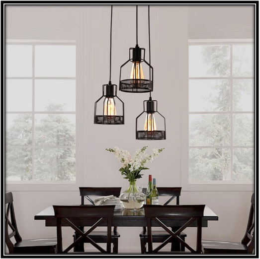 Lightening Matters for perfect dining hall - Home decor ideas