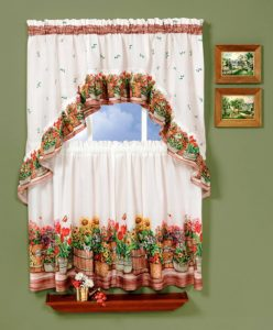 A Window Set For The Swag Home Decor Ideas