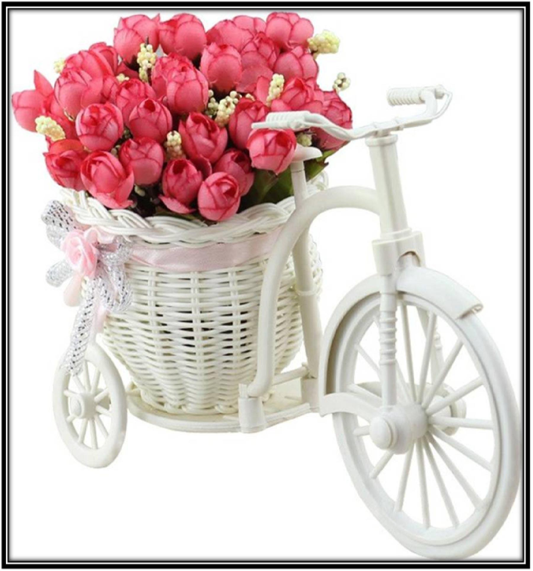 A flower basket prop - home decor ideas