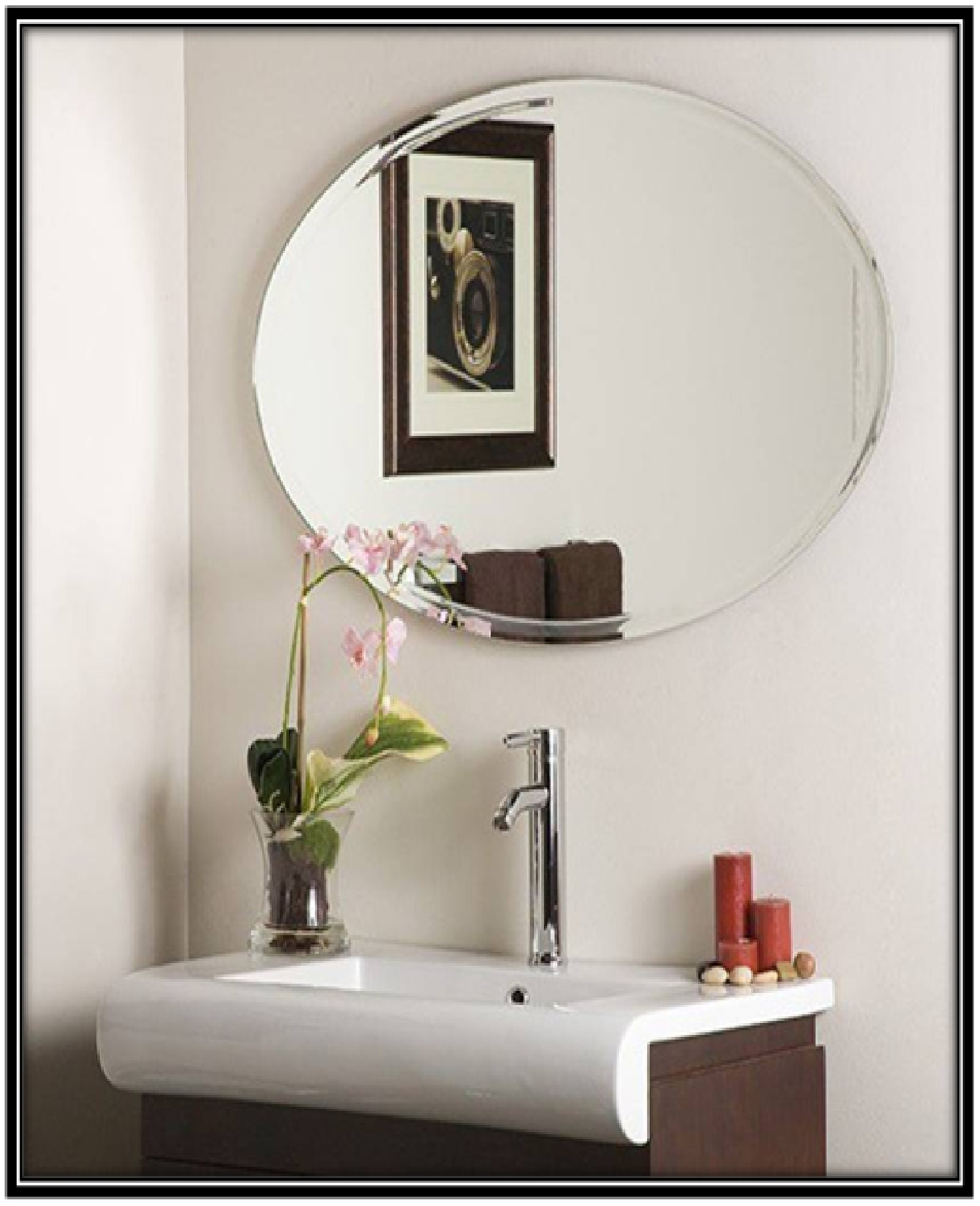 Bathroom Mirror - home decor ideas
