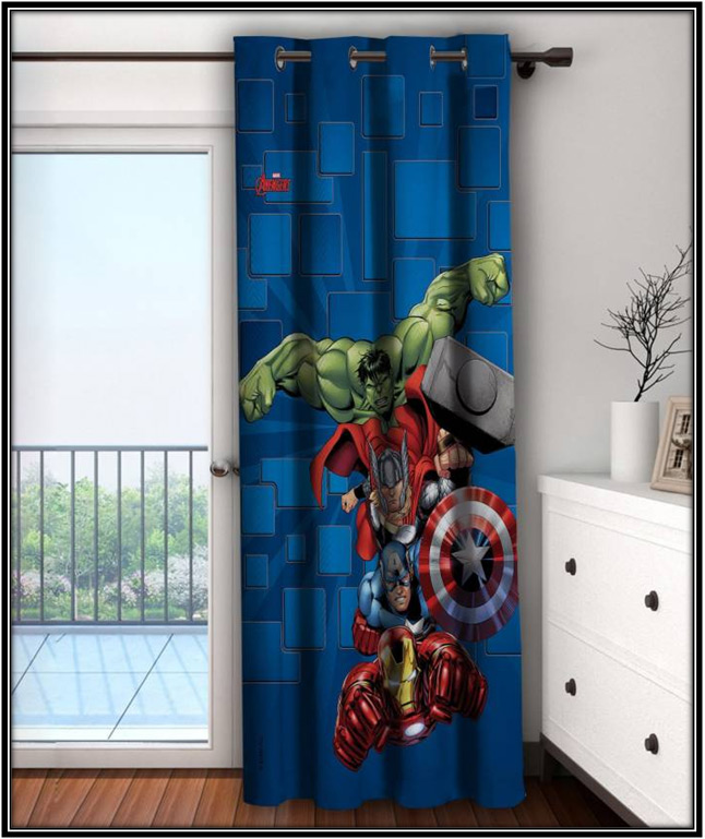 Cartoon Window Curtains Kids Room Decor Home Decor Ideas