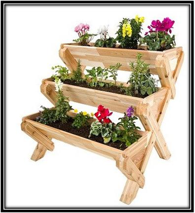 Cascading Garden Planter Home Decor Ideas