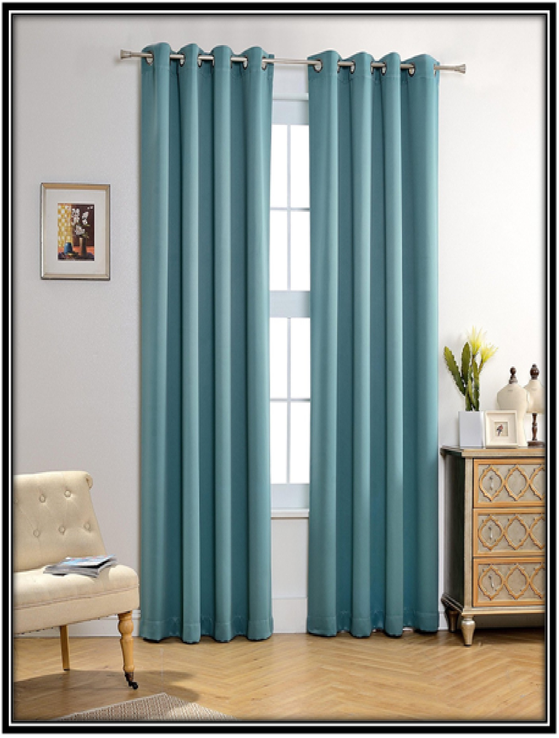 Curtains for the privacy - home decor idea