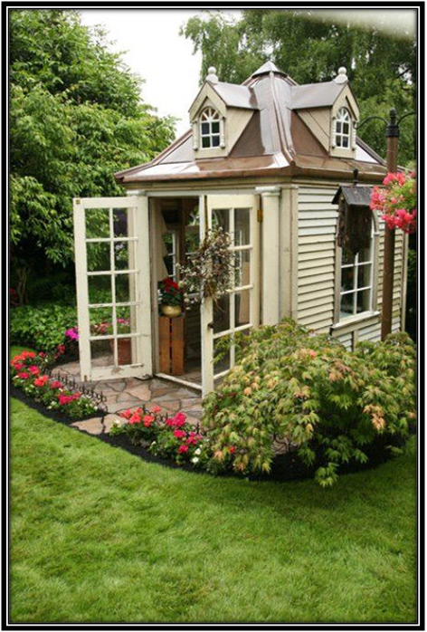 Garden Floor She Shed Home Decor Ideas