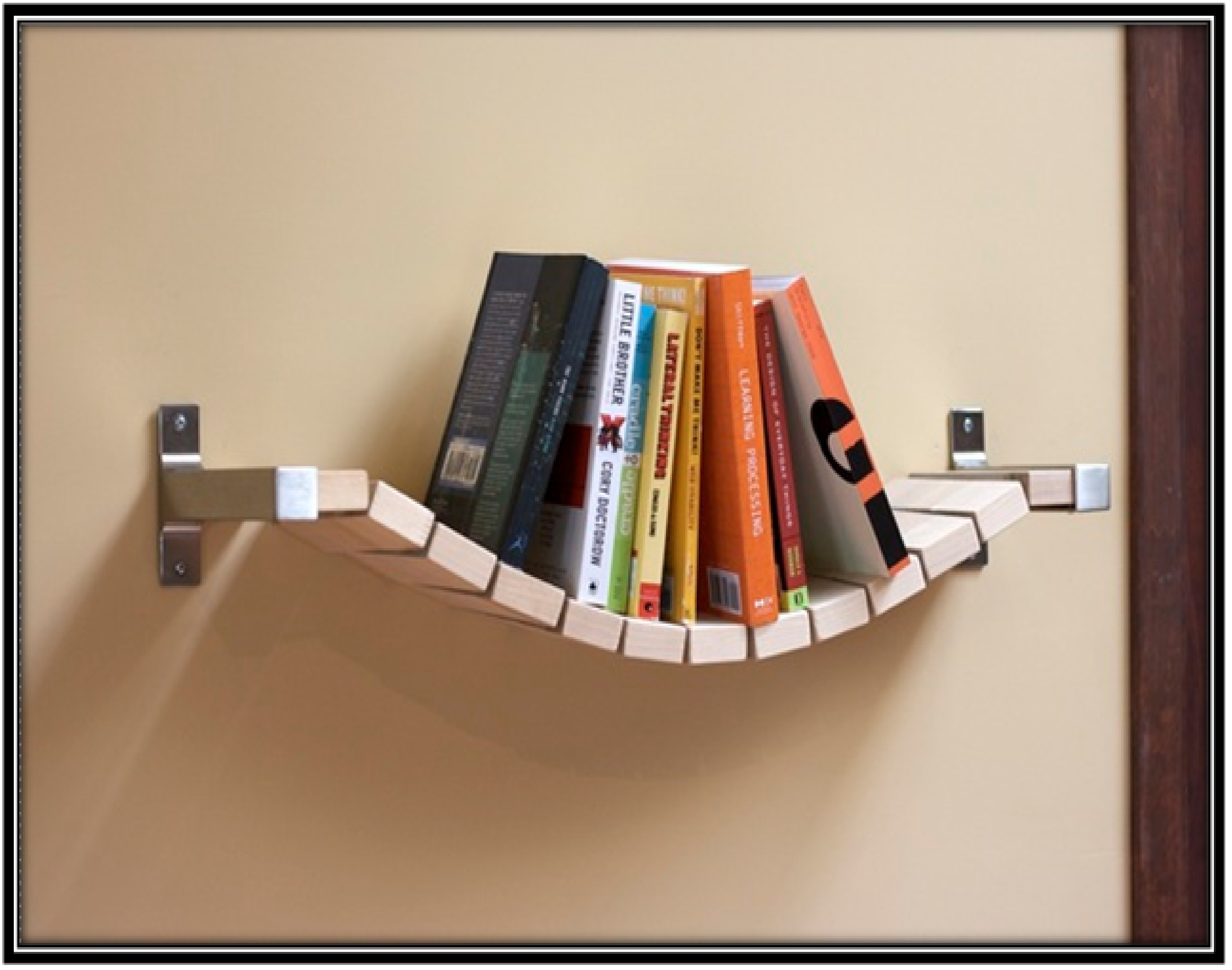 Keeping books safe - home decor ideas